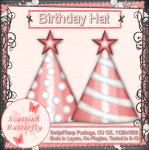 Birthday Hat Script/Template Package