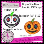 Day of the Dead Pumpkin Script