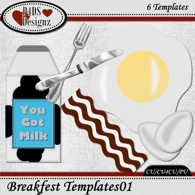 Breakfast Templates 01