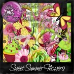 Sweet Summer Flowers Kit TS