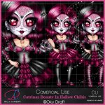 Catrinas Beauty In Halloween Chibi