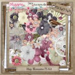 PU May Blossoms full size kit