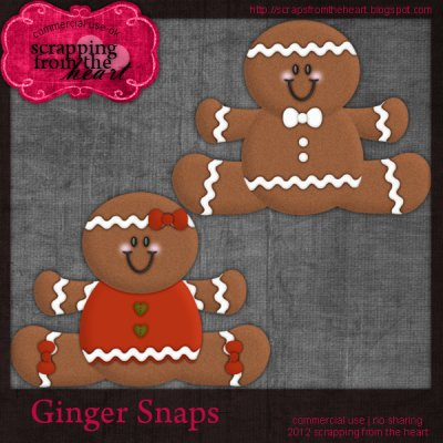 Ginger Snaps Templates