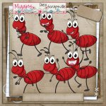 CU Hand Drawn Bugtopia- Cute Bugs Clipart 3