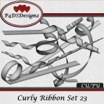 Curly Ribbon Set 23