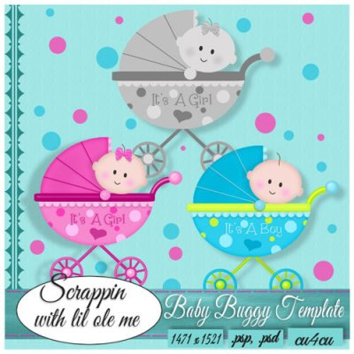Baby Buggy Template