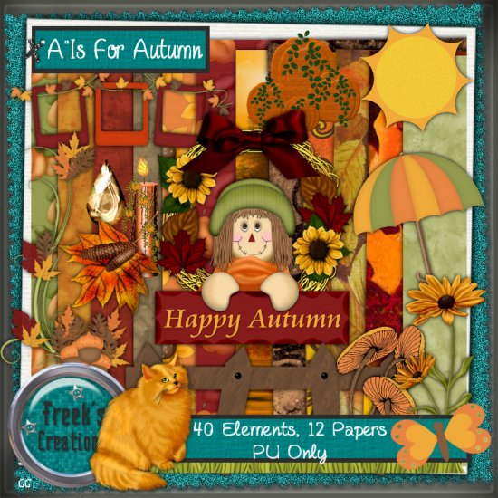 """A"" is for Autumn - Click Image to Close"