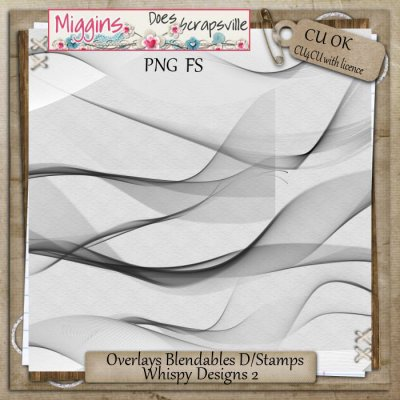 CU Overlays Blendables DigiStamps Wisps 2