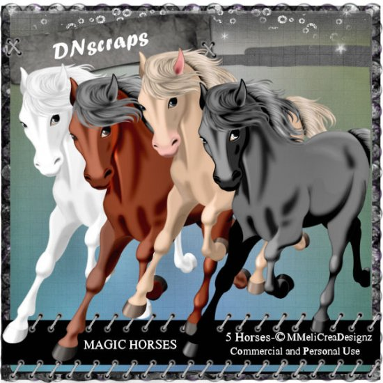 Magic horses cu mix - Click Image to Close