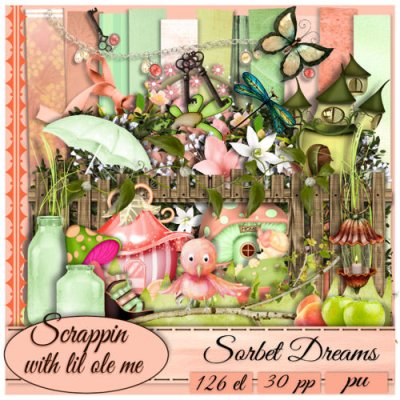 Sorbet Dreams Taggers Kit