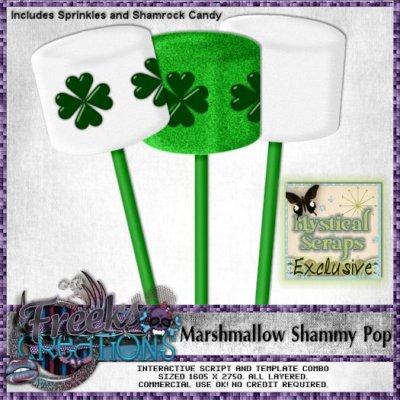 Marshmallow Shammy Pop