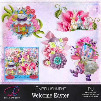 Welcome Easter Emb