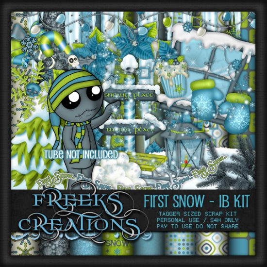 First Snow - IB Kit - Click Image to Close