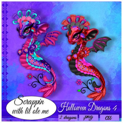 Halloween Dragons 4
