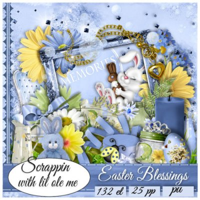 Easter Blessings Taggers Kit