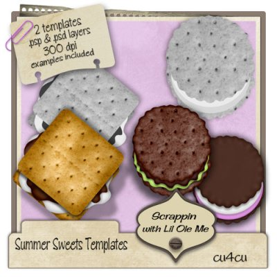 Summer Sweets Templates