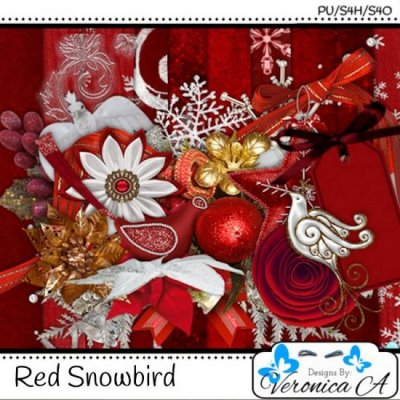 Snowbird In Red TS