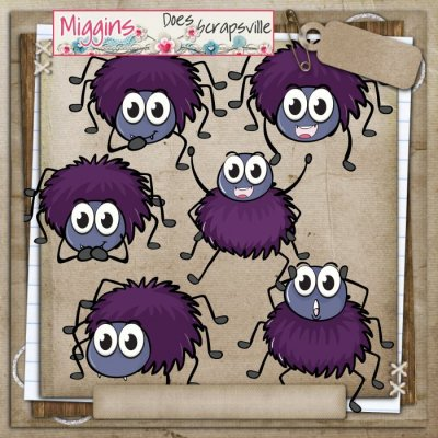 CU Hand Drawn Bugtopia- Cute Bugs Clipart 4