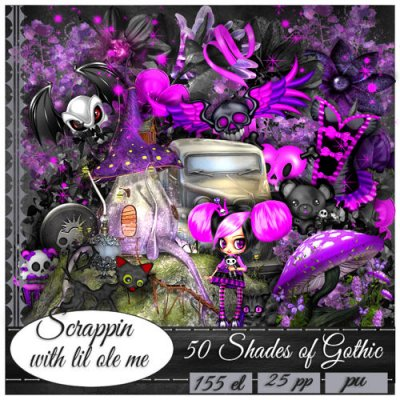 50 Shades Of Gothic Taggers Kit