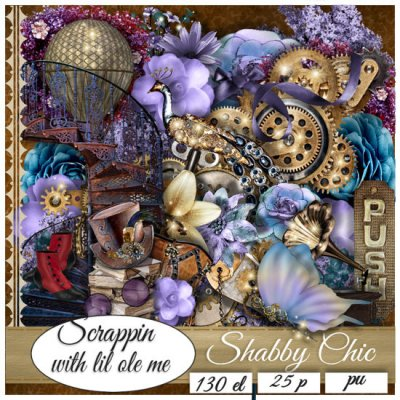 Shabby Chic Taggers Kit
