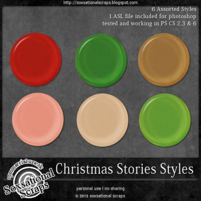 Christmas Stories Styles CU