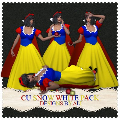 CU Snow White Pack TS