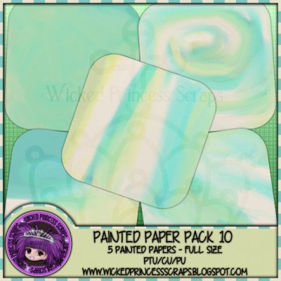 Painted Papers 10 CU/FULL