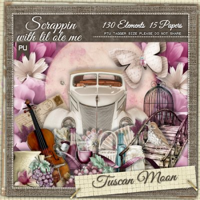 Tuscan Moon Taggers Kit