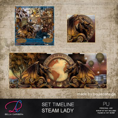 Steam Lady TL 5