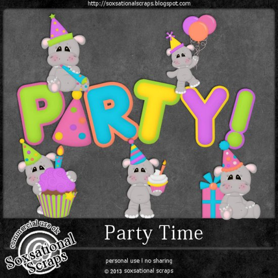 Party Time CU - Click Image to Close