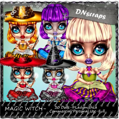 Magic witch pack