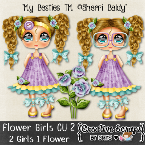 Flower Girls CU2 - Click Image to Close