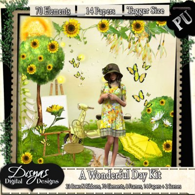 A WONDERFUL DAY KIT TAGGER SIZE