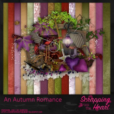 An Autumn Romance Full Size Scrap Kit