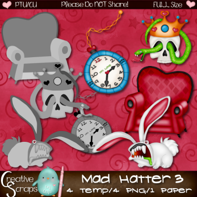 Mad Hatter CU3