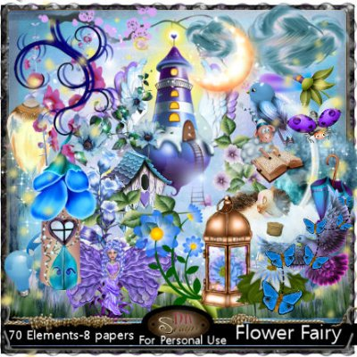 Flower fairy kit