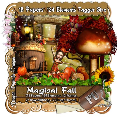 MAGICAL FALL KIT - TAGGER SIZE