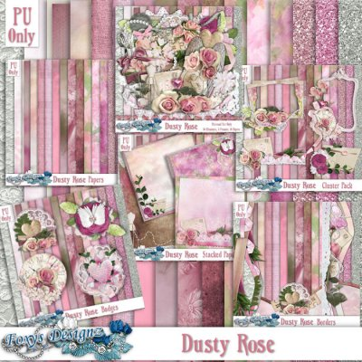 Dusty Rose Bundle