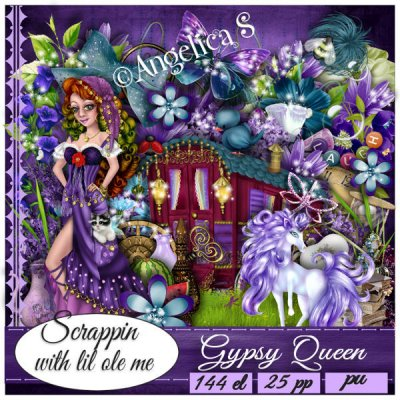 Gypsy Queen Taggers Kit
