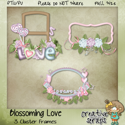 Blossoming Love Clusters