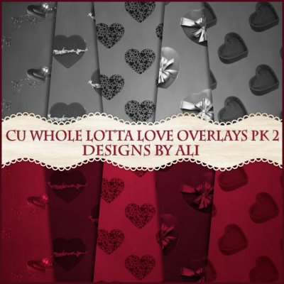 CU Whole Lotta Love Overlays Pk 2 TS
