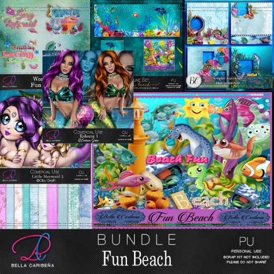 Fun Beach Bundle - Click Image to Close
