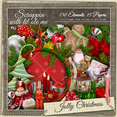 Jolly Christmas Taggers Kit