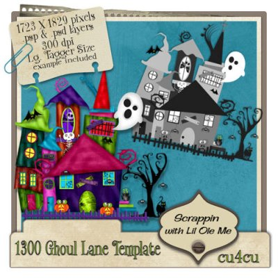 1300 Ghoul Lane Template