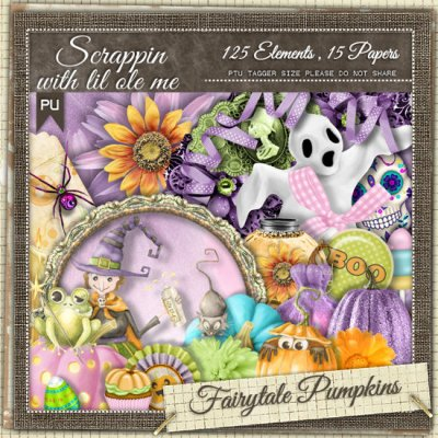 Fairytale Pumpkins Tagger Kit