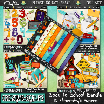 Back To School Bundle CU