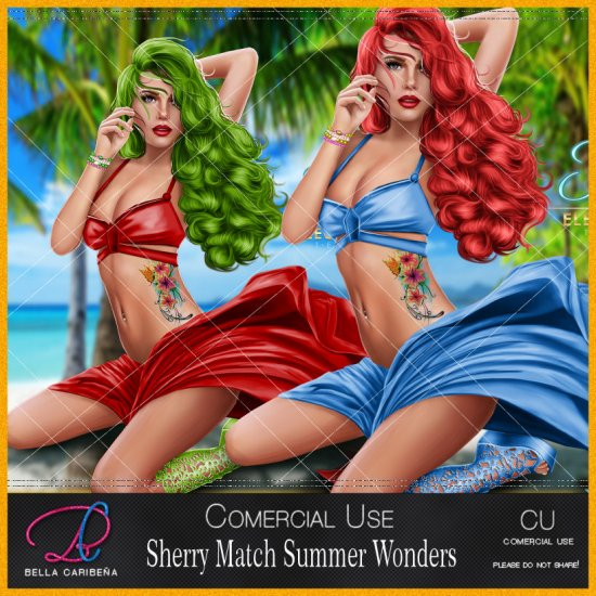 Summer Wonders Exclusive Match Tube Sherry CU/PU - Click Image to Close