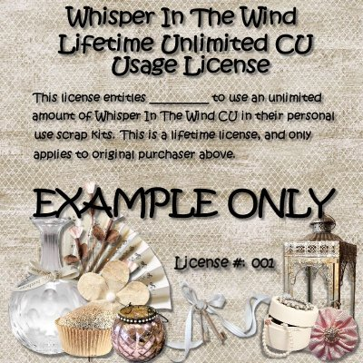 Whisper In The Wind - Unlimited CU Usage Lifetime License