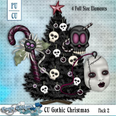 CU Gothic Christmas Pack 2