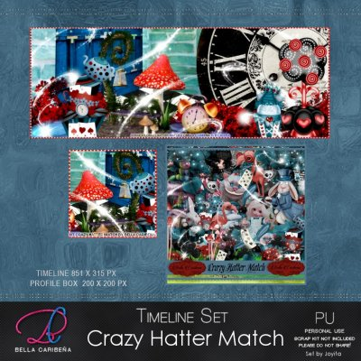 CRAZY HATTER MATCH TL 9a